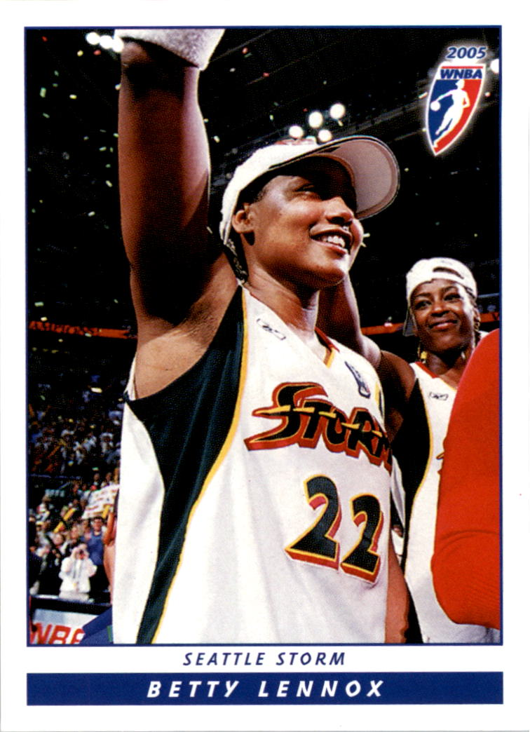 2005 WNBA #9 Betty Lennox
