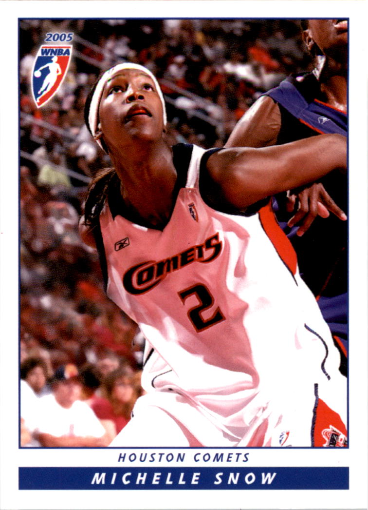 2005 WNBA #17 Michelle Snow