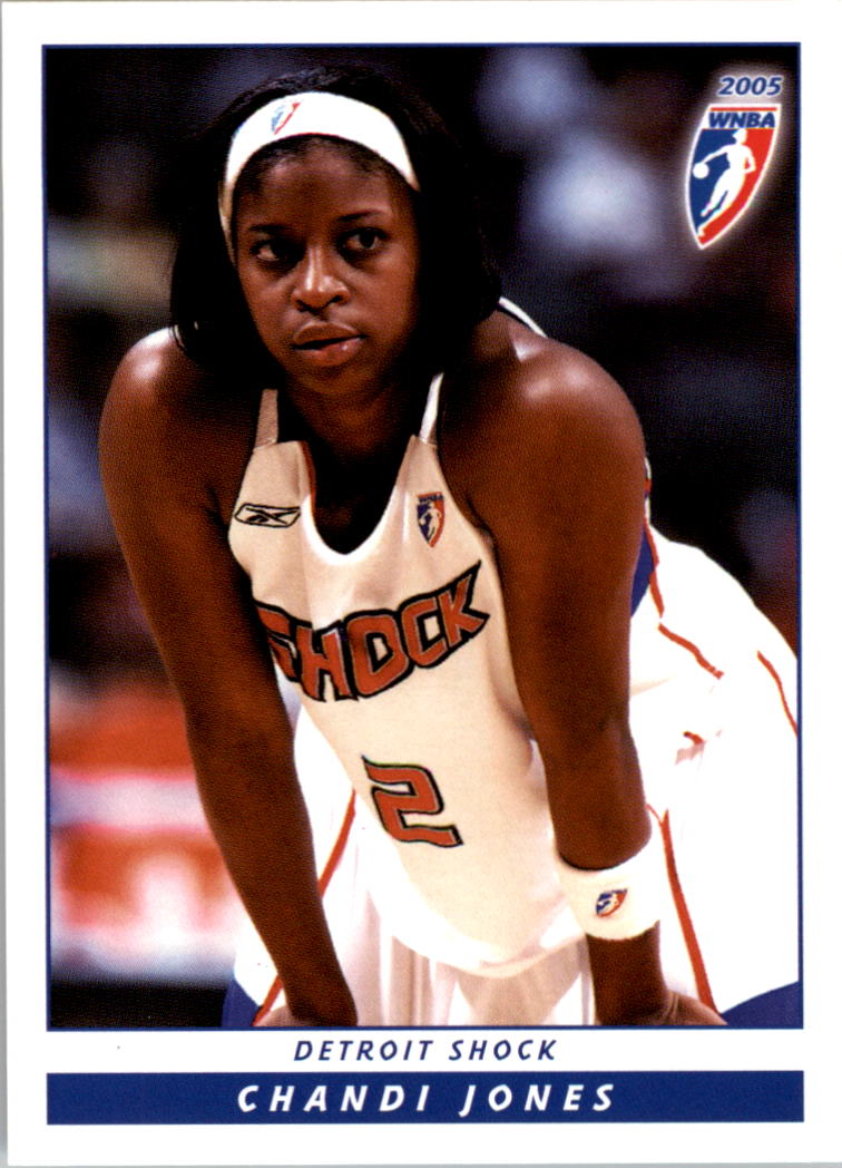2005 WNBA #18 Chandi Jones