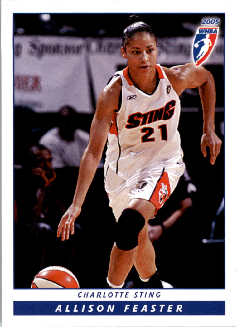 2005 WNBA #24 Allison Feaster