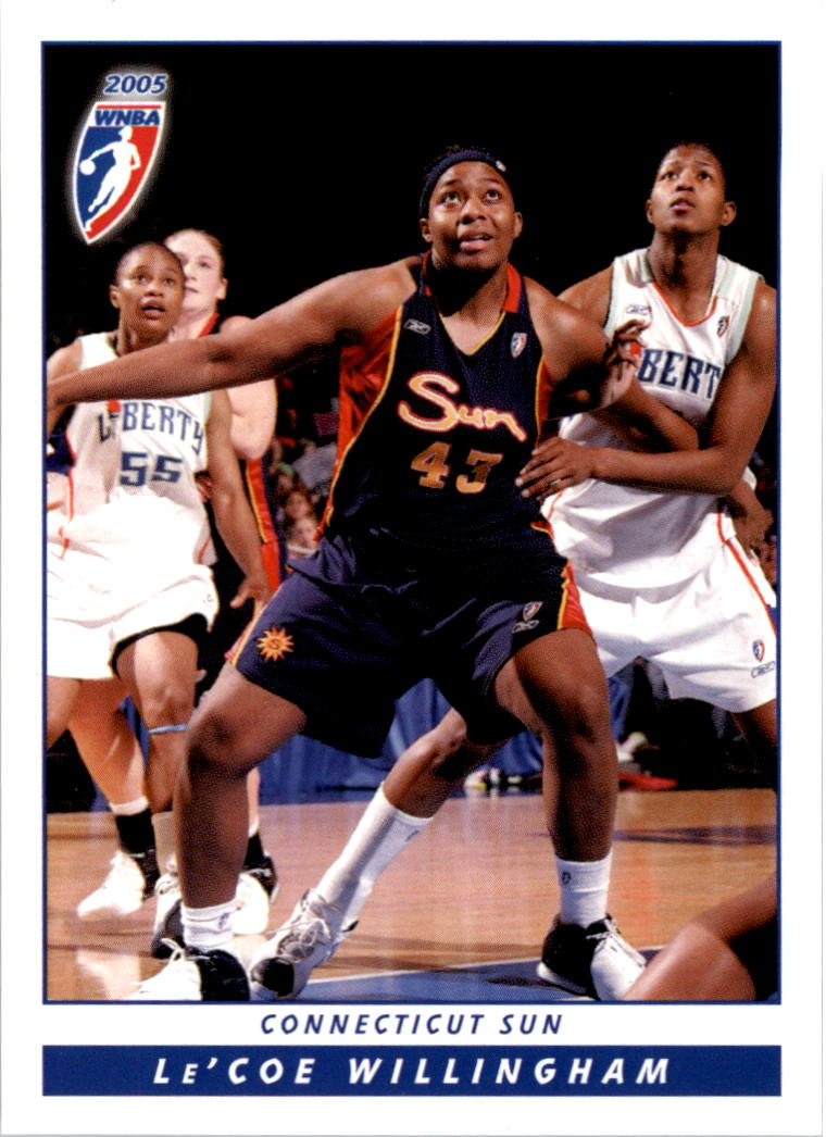 2005 WNBA #62 Le'Coe Willingham RC