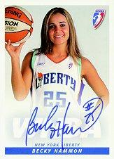 2005 WNBA Autographs #BH1 Becky Hammon Posed