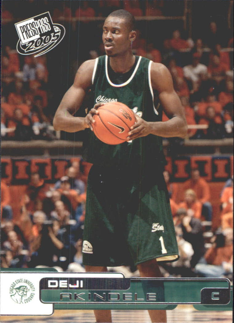 2005 Press Pass #1 Deji Akindele