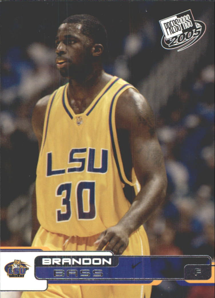 2005 Press Pass #3 Brandon Bass