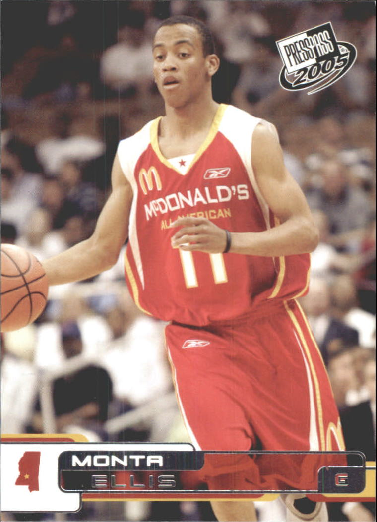2005 Press Pass #8 Monta Ellis