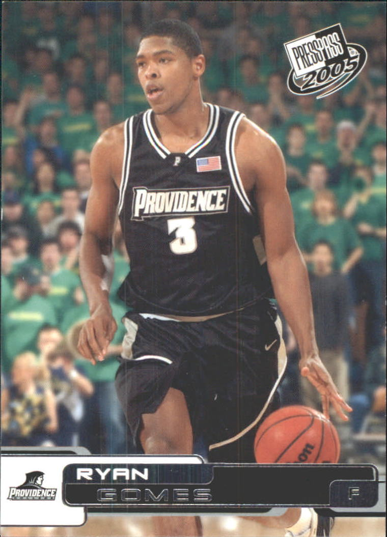 2005 Press Pass #13 Ryan Gomes