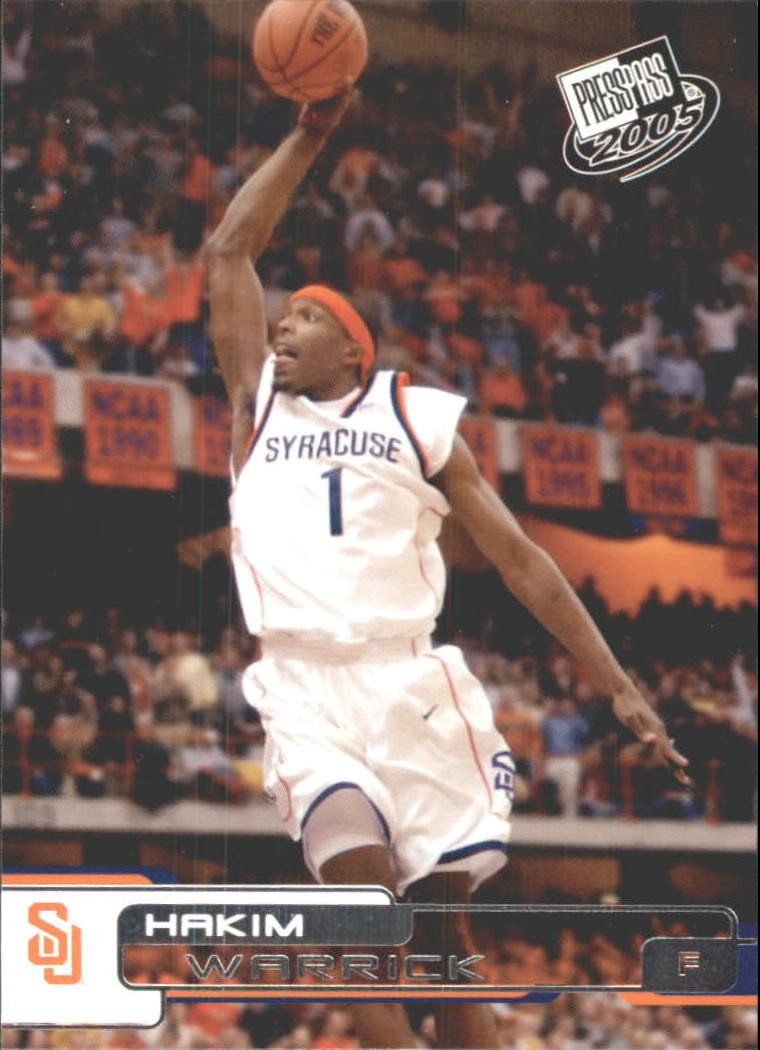 2005 Press Pass #34 Hakim Warrick