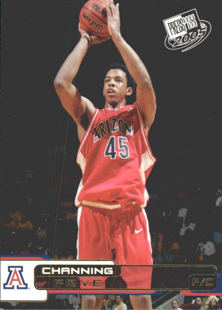 2005 Press Pass Gold #11 Channing Frye