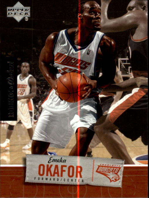 2005-06 Upper Deck Rookie Debut #8 Emeka Okafor