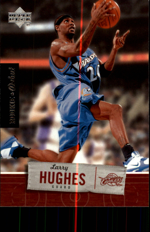 2005-06 Upper Deck Rookie Debut #99 Larry Hughes