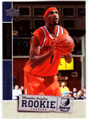2005-06 Upper Deck Rookie Debut #112 Hakim Warrick RC front image