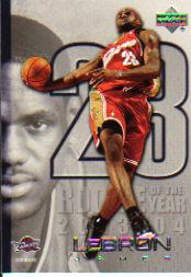 2005-06 Upper Deck LeBron James #LJ16 LeBron James