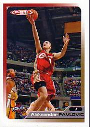 2005-06 Topps Total #172 Aleksandar Pavlovic