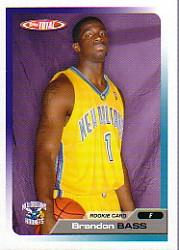 2005-06 Topps Total #331 Brandon Bass RC