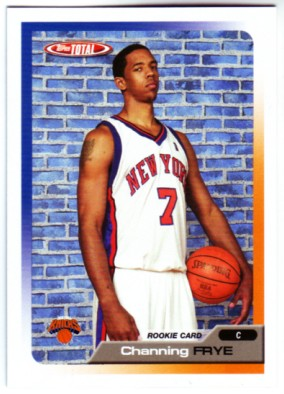 2005-06 Topps Total #342 Channing Frye RC