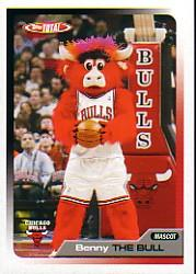 2005-06 Topps Total #432 Benny the Bull