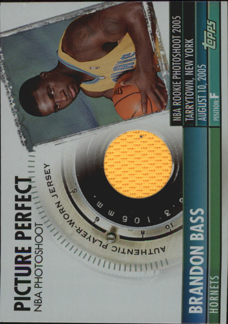 2005-06 Topps Big Game Picture Perfect Relics #BB Brandon Bass JSY