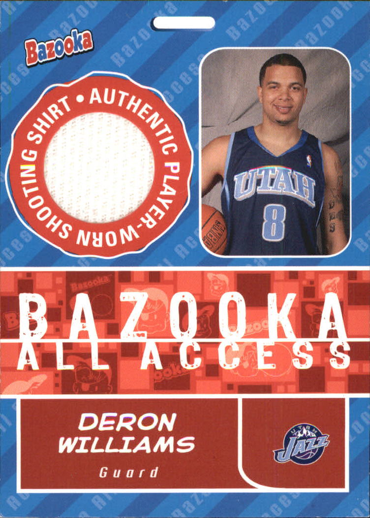 2005-06 Bazooka All-Access Relics #DW Deron Williams