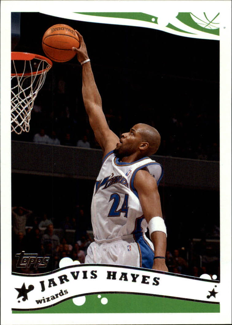 2005-06 Topps #205 Jarvis Hayes
