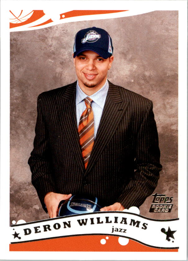 2005-06 Topps #223 Deron Williams RC
