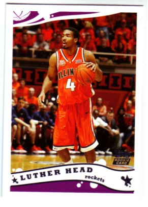 2005-06 Topps #244 Luther Head RC