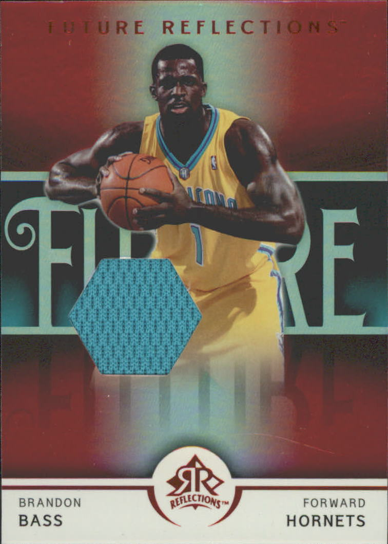 2005-06 Reflections Red #114 Brandon Bass JSY