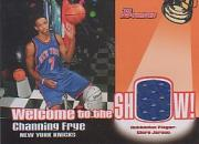 2005-06 Bowman Welcome to the Show Relics #CF Channing Frye front image