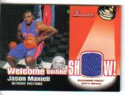 2005-06 Bowman Welcome to the Show Relics #JM Jason Maxiell