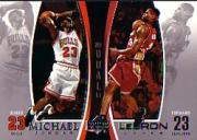 2005-06 Upper Deck Michael Jordan/LeBron James #MJLJ1 Michael Jordan/LeBron James