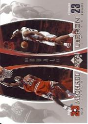 2005-06 Upper Deck Michael Jordan/LeBron James #MJLJ2 Michael Jordan/LeBron James