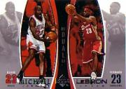 2005-06 Upper Deck Michael Jordan/LeBron James #MJLJ3 Michael Jordan/LeBron James