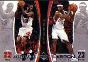 2005-06 Upper Deck Michael Jordan/LeBron James #MJLJ4 Michael Jordan/LeBron James