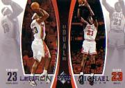 2005-06 Upper Deck Michael Jordan/LeBron James #MJLJ7 Michael Jordan/LeBron James
