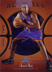 2005-06 Sweet Shot #122 Channing Frye RC