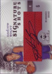 2005-06 Sweet Shot Signature Shots #AB Andrew Bogut