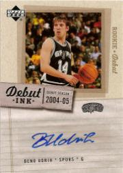 2005-06 Upper Deck Rookie Debut Ink #BU Beno Udrih