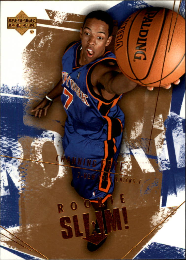 2005-06 Upper Deck Slam #105 Channing Frye RC front image