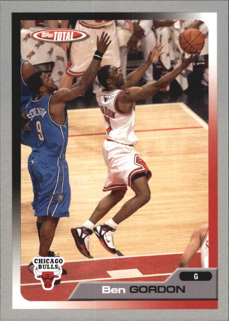 2005-06 Topps Total Silver #29 Ben Gordon