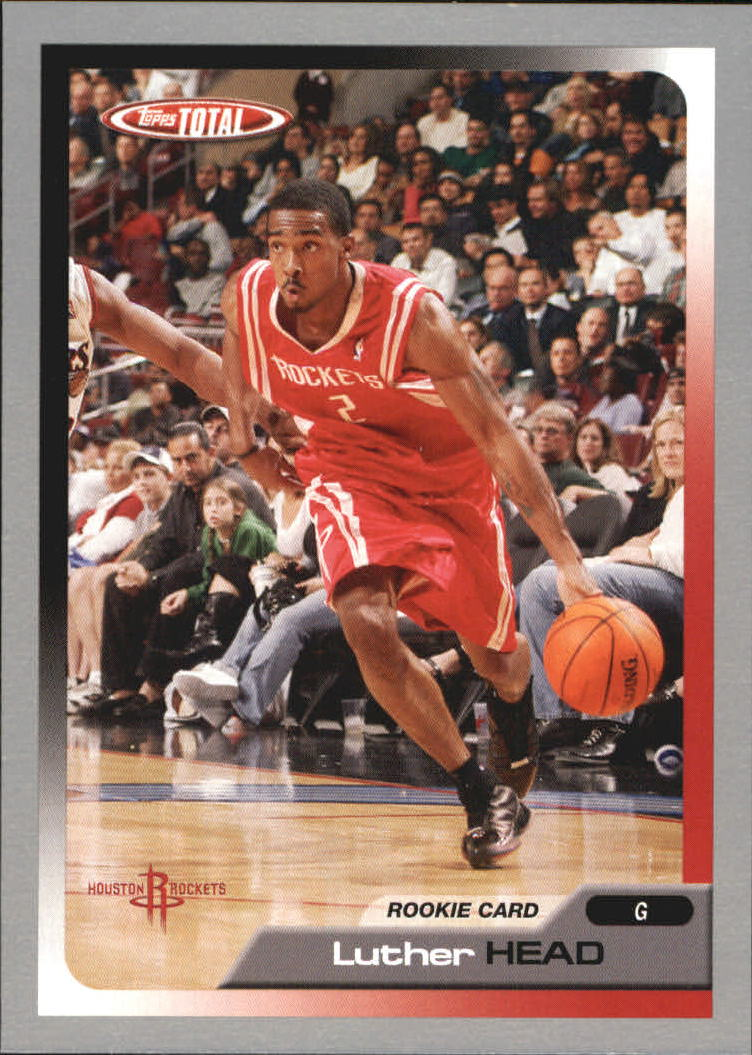 2005-06 Topps Total Silver #221 Luther Head