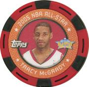 2005-06 Topps NBA Collector Chips Red #37 Tracy McGrady