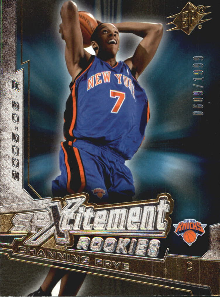 2005-06 SPx SPxcitement Rookies #XCR14 Channing Frye