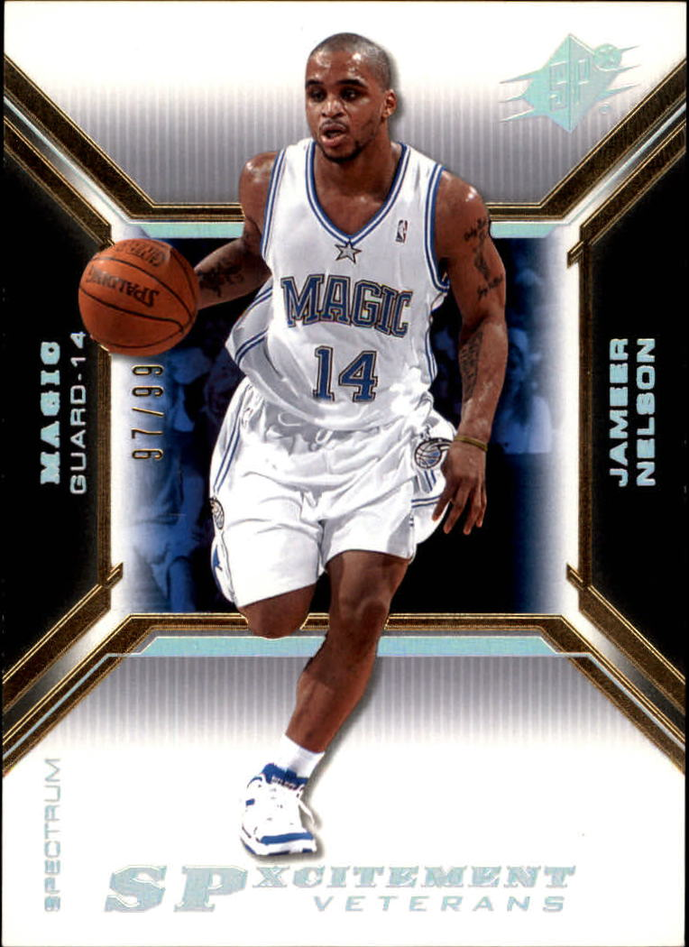 2005-06 SPx SPxcitement Veterans Spectrum #XCV24 Jameer Nelson