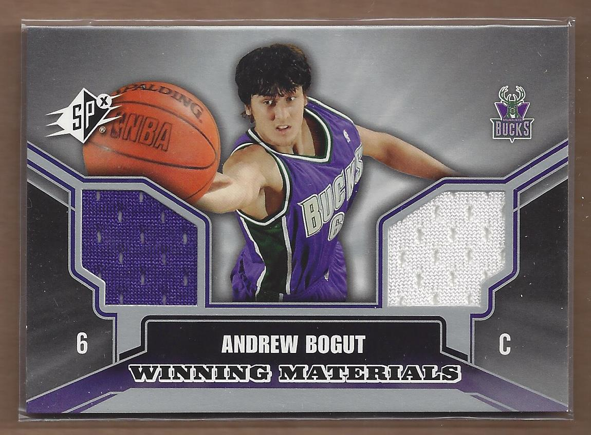 2005-06 SPx Winning Materials #AB Andrew Bogut