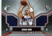 2005-06 SPx Winning Materials #JK Jason Kidd