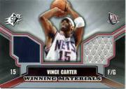 2005-06 SPx Winning Materials #VC Vince Carter