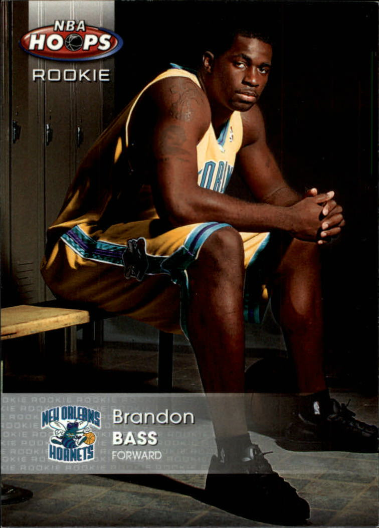 2005-06 Hoops #155 Brandon Bass RC