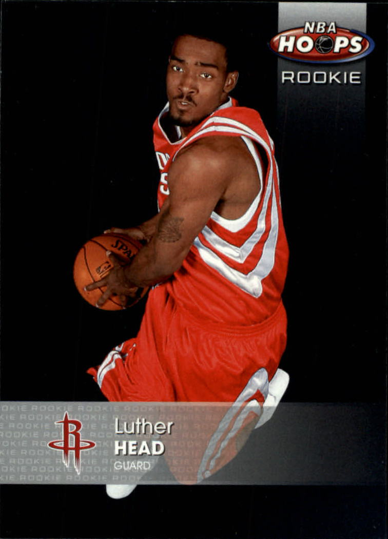 2005-06 Hoops #163 Luther Head RC