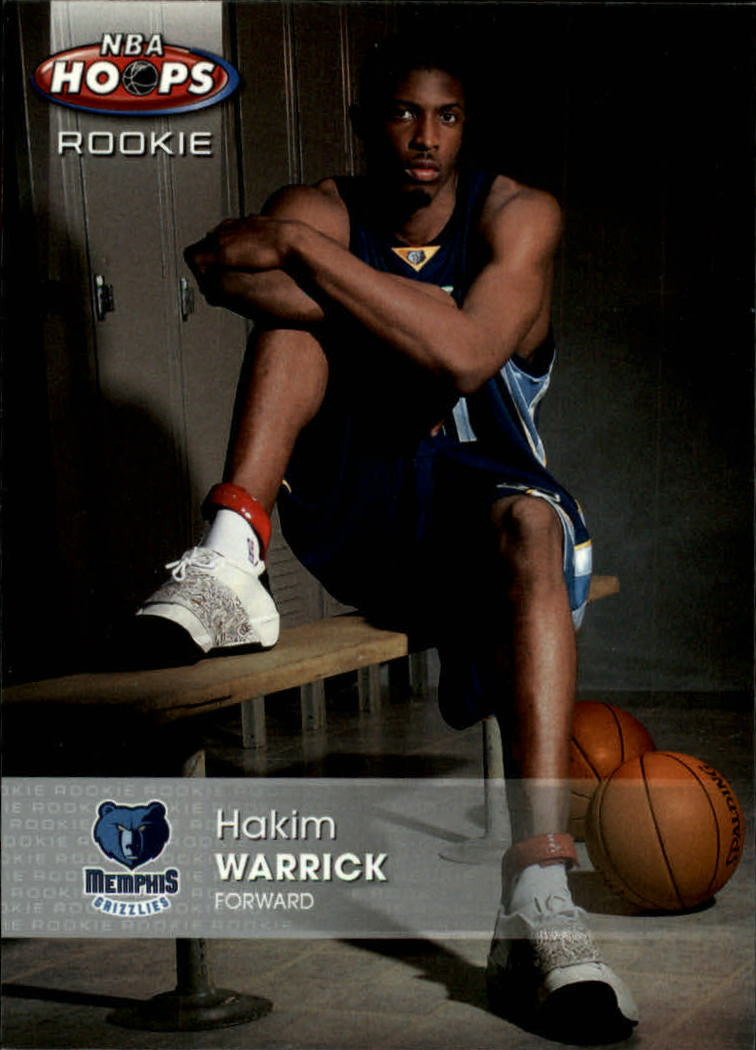 2005-06 Hoops #168 Hakim Warrick RC