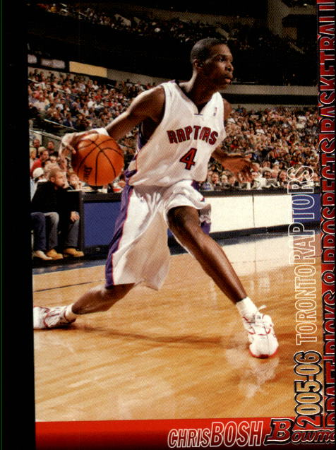 2005-06 Bowman #27 Chris Bosh