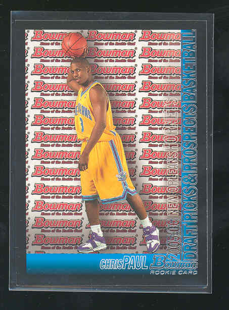 2005-06 Bowman #111 Chris Paul RC